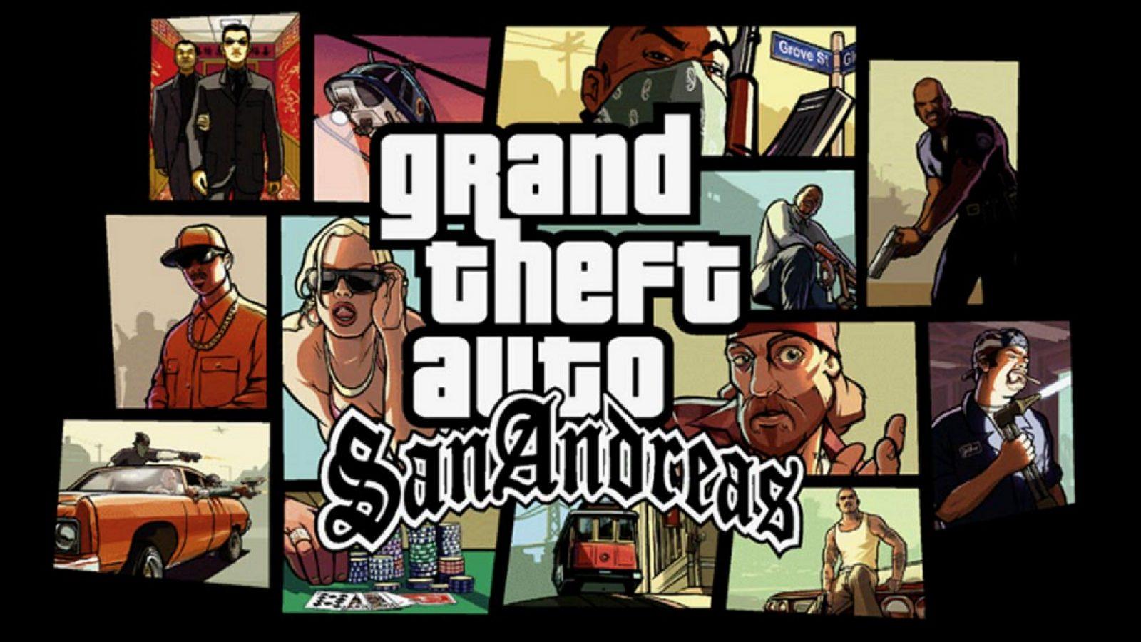 Rockstar Games antaa GTA San Andreas-pelin ilmaiseksi!