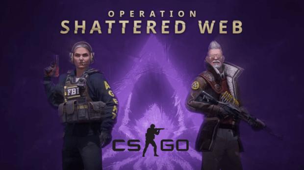 "Valve yllätti CS:GO:n uudella  ""Shattered Web"" operaatiolla!"