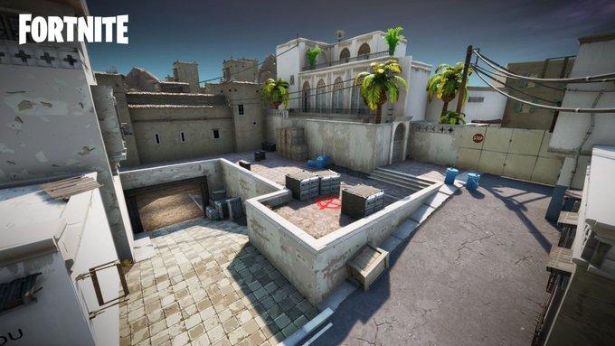 Counter Strikesta tuttu kartta tulossa myös Fortniteen!