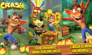Crash Bandicoot on tulossa myös mobiilipeliksi