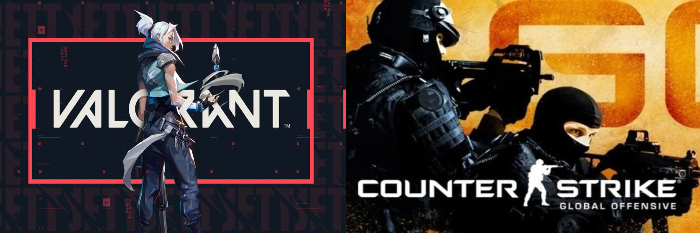 Valorant vai Counter Strike?