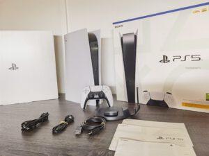 Nyt se on täällä! PlayStation 5 – konsolin unboksaus!