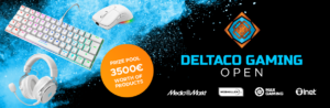 Deltaco Gaming Open – White Edition on tullut päätökseensä!
