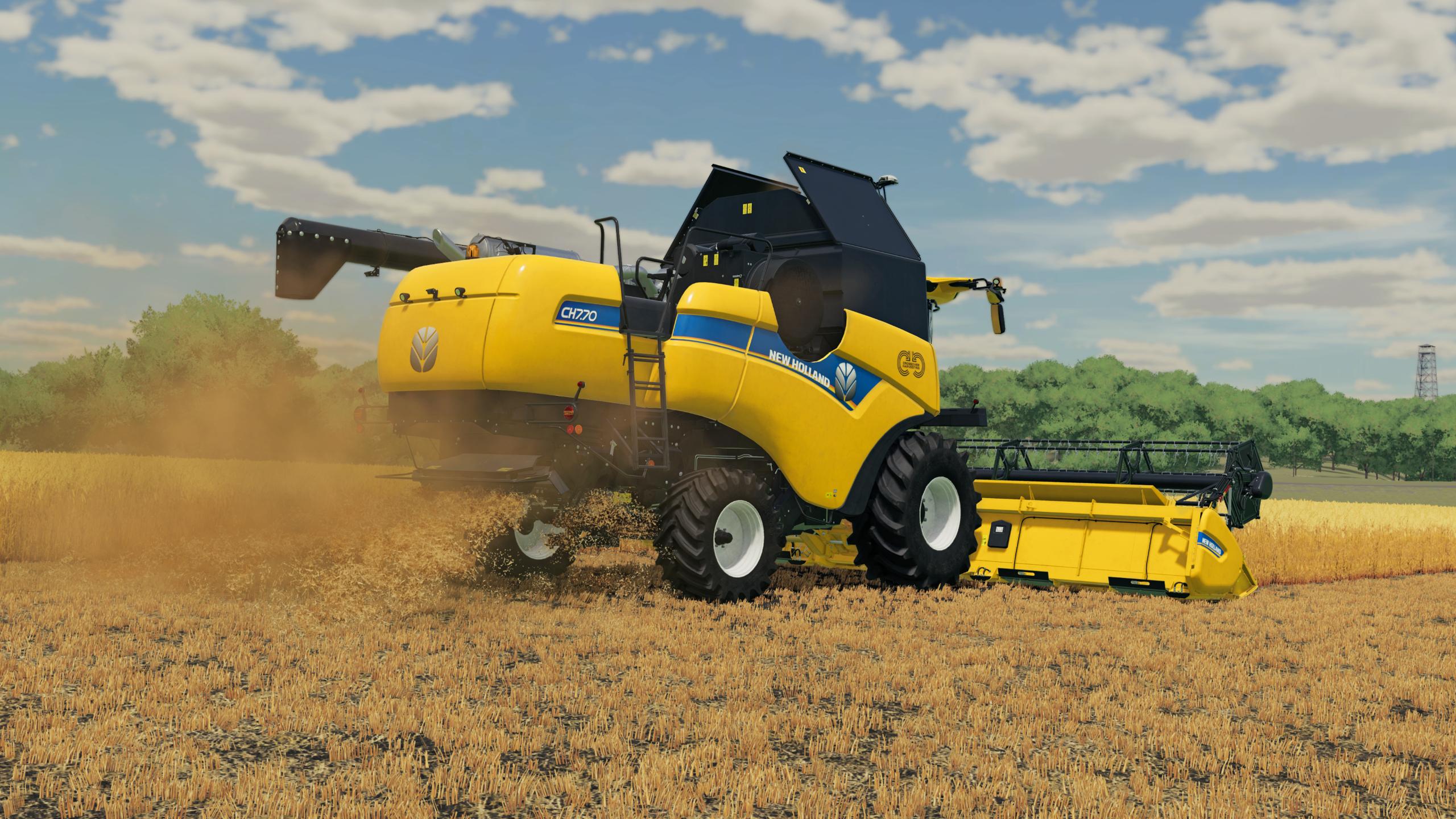 Uudistettu Farming Simulator 22 -maatalouspeli tulossa suomenkielisenä
