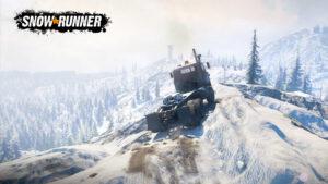 SnowRunner-ajosimulaation lumipeitteisille teille pääsee toukokuussa myös Nintendo Switchillä